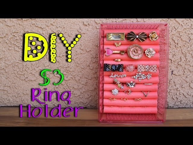 DIY $3 Ring Holder