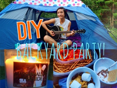 DIY Backyard Summer Party!