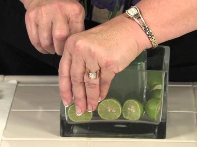 DIY Bride's Lime Wedding Centerpieces : Floral Arrangements for Weddings & Centerpieces
