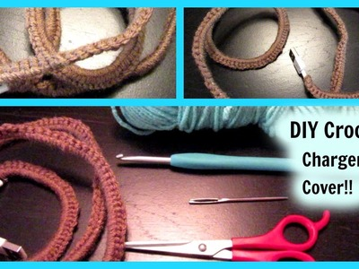 DIY Crochet Cell Phone Charger Cover!