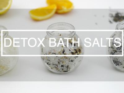 DIY Detox Bath Salts | Aromatherapy