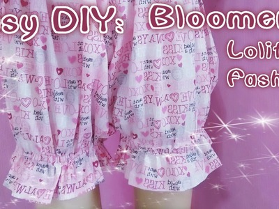 DIY: How to Sew Dolly Bloomers (Easy&Cute)
