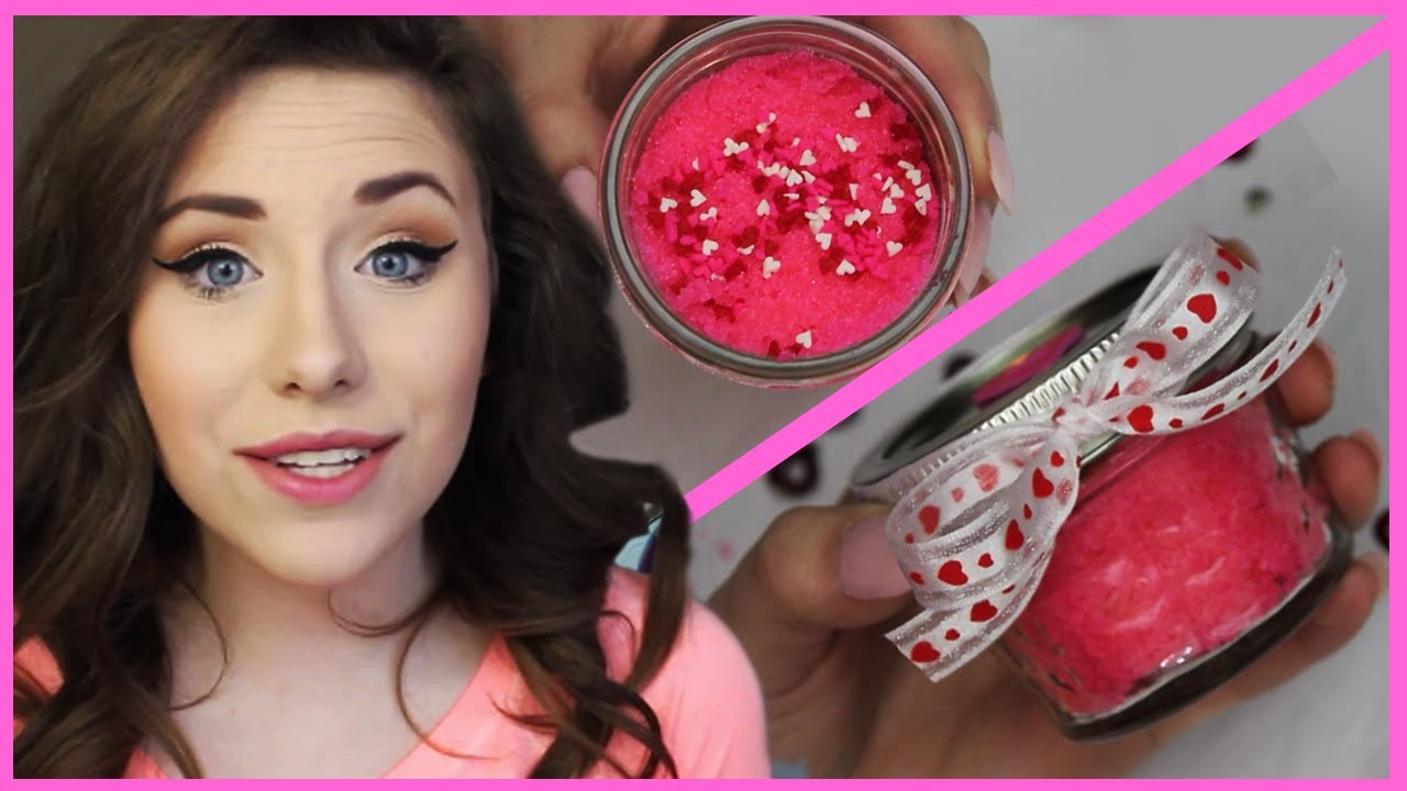 DIY Lush Lip Scrub For Valentine's Day With EmilyGrace266!