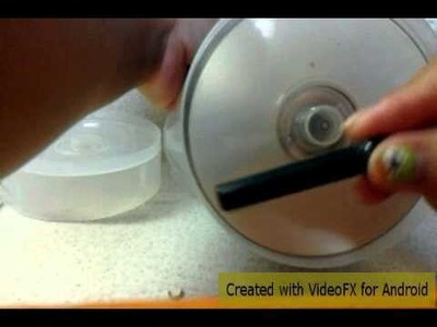 """DIY"" Make your OWN hamster wheel (aka silent spinners)"