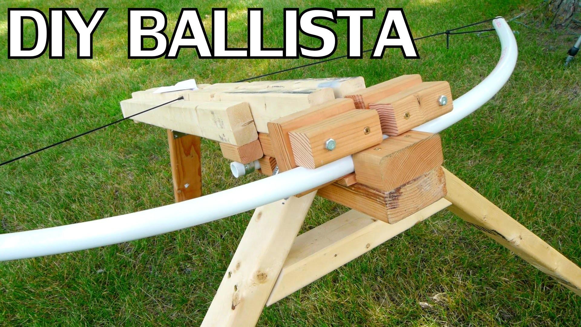 DIY Paper Airplane Ballista