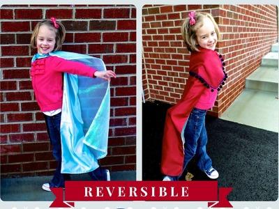 DIY Reversible Frozen Cape