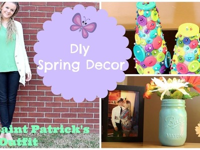 DIY Spring Decor + My St Patrick's Day Outfit☀︎
