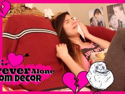 ♥DIY: Valentine's Forever Alone Room Decor♥ ᵃᵈᵉˡᵃᶥⁿᵉ ᵐᵒʳᶥⁿ