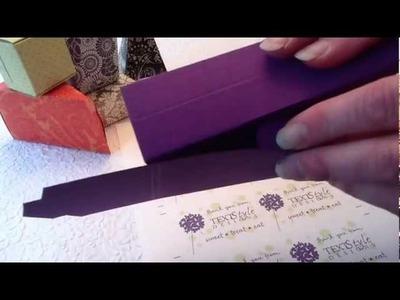 DIY Wedding Favor Boxes