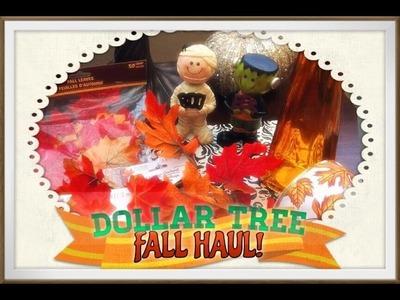 Dollar Tree Haul! FALL DECOR Haul! 2014