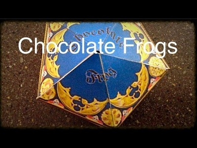 Harry Potter Recipes.Crafts: Chocolate Frogs