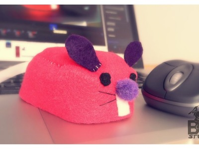 How to Make a Computer Mouse Cover from Felt tutorial
