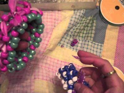 How to make a kandi 3D ribbon cuff