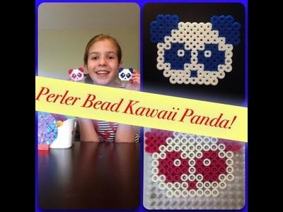 How To Make A Perler Bead Kawaii Panda
