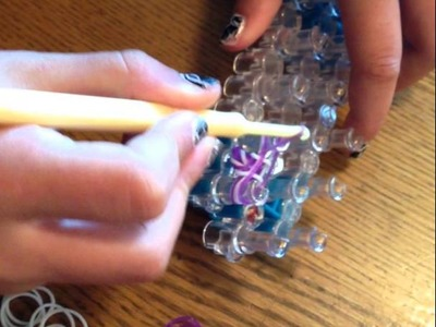 How to make a rainbow loom fishtail ring or bracelet