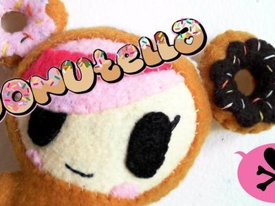 How to Make a tokidoki Donutella Felt Plush tutorial