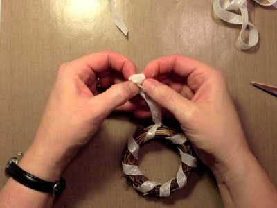 How To: Make a Wreath Ornament using Lawn Fawn + May Arts