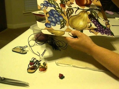 How to Make Doll Sandals with Floor Tiles Part 3