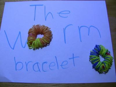 How to make the WORM rainbow loom Bracelet