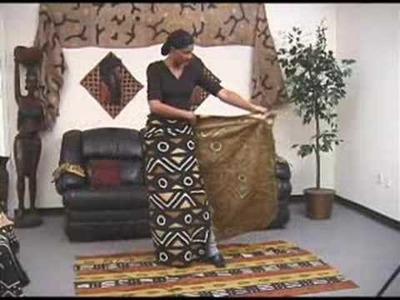 How to Wear an African Wrap Skirt