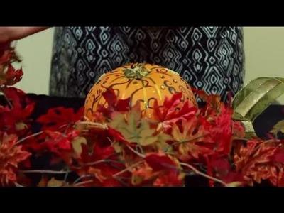 Inspired Pumpkin Decorating Ideas : Pumpkin Carving & Decorating