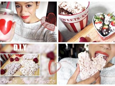 ♡ LAST MINUTE VALENTINES DIY TREATS | Tasha Green ♡