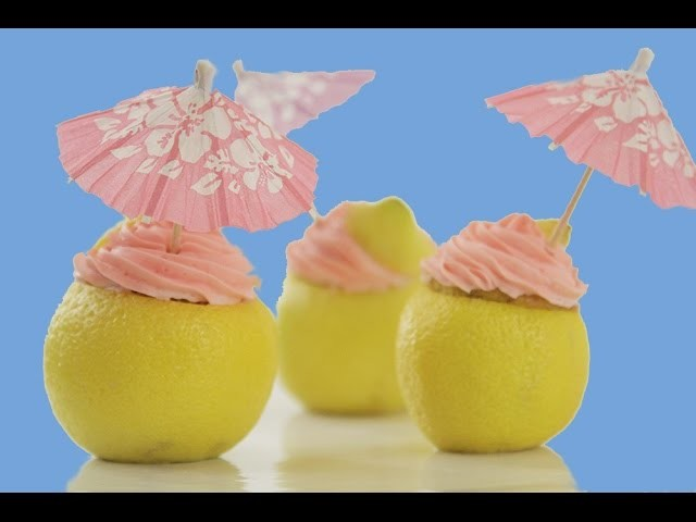 Lemon Raspberry Cupcakes, DIY Summer Decor & Candy Vases | Summer Sweet Styling | Elise Strachan