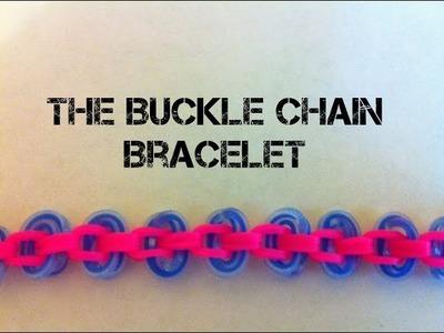 NEW Buckle Chain Rainbow loom bracelet