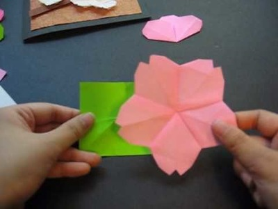 Origami 11 - Cherry Blossom (Part 2 of 2 - Flower Buds)