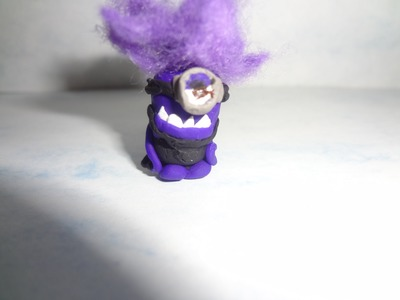 Purple evil minion tutorial (polymer clay tutorial) Ep 2 of The Despicable me series