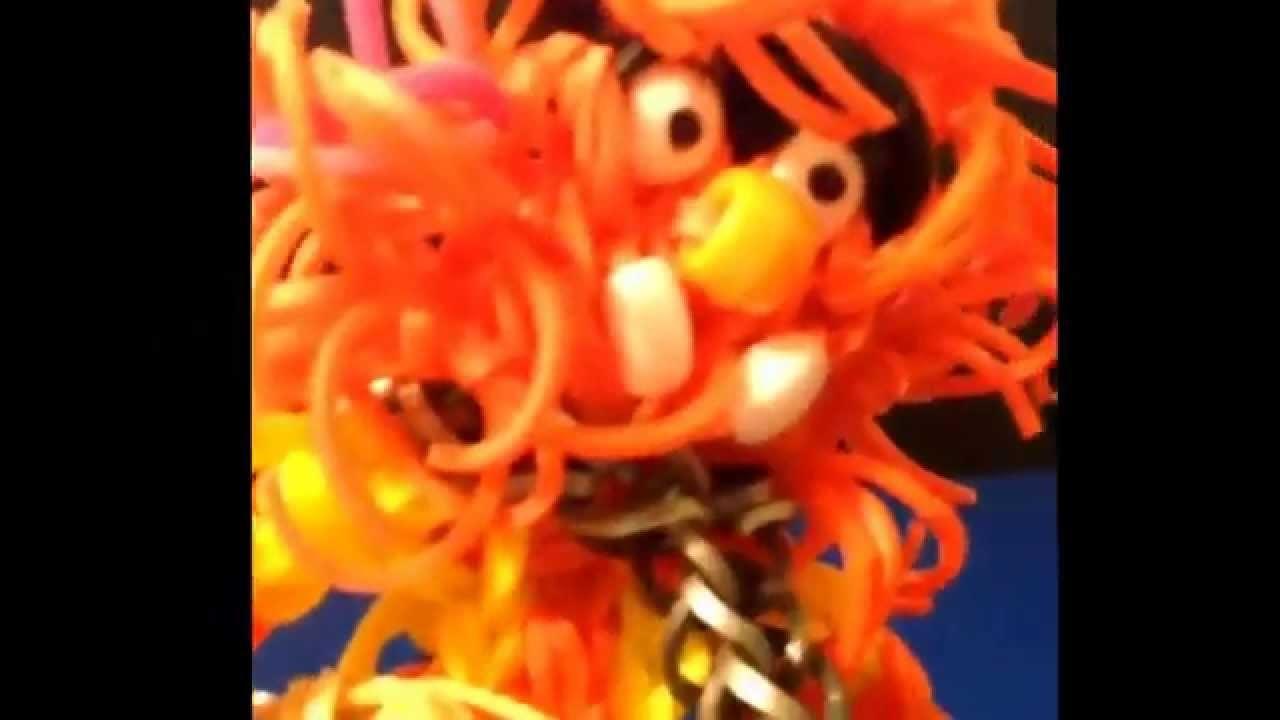 Rainbow Loom Animal from the Muppets - Mahna Mahna