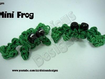 Rainbow Loom Mini Frog Charm  - Gomitas