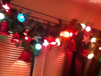 Tour of all the Vintage Christmas Decor in my living room.