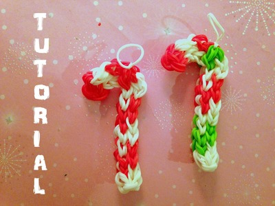 Tutorial - Candy Cane - Rainbow Loom