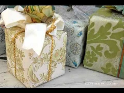 Wedding gift wrapping ideas