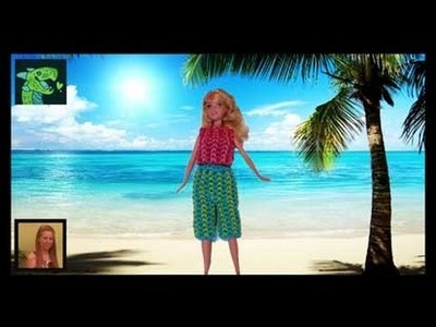 Barbie Shorts,  Capri's and Pants on the Rainbow Loom 3D Wearable * Original Design