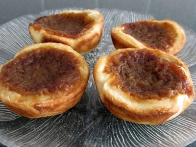 Butter Tarts Recipe - with no corn syrup!