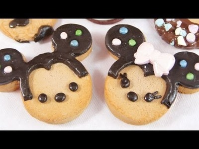 [CLAY TUTORIAL] Mickey Mouse Cookies