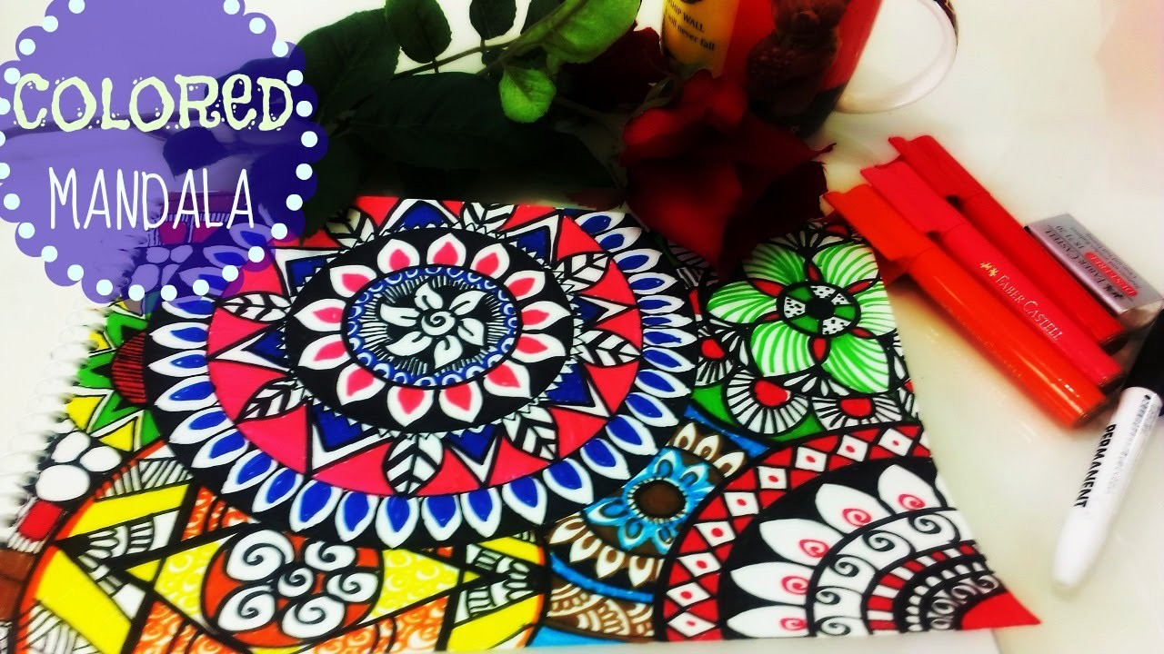 ♥ Colourful Mandalas Painting ♥