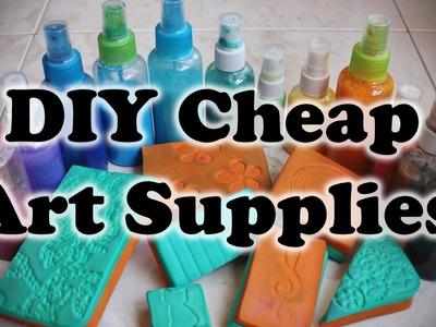 DIY Cheap Art Supplies