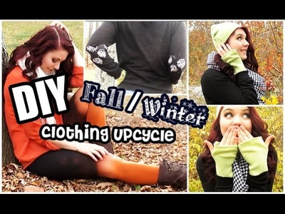 DIY Fall.Winter Clothing Upcycle!