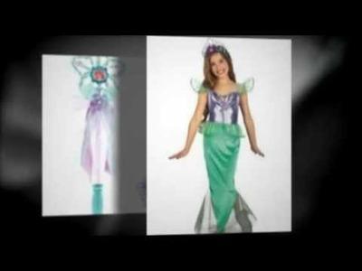 Girls Mermaid Halloween Costumes