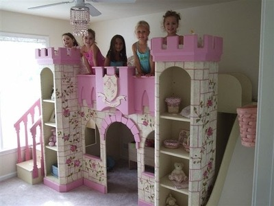Girls Princess Room | Princess Bedroom Furniture | Princess Room Decor | Girls Beds