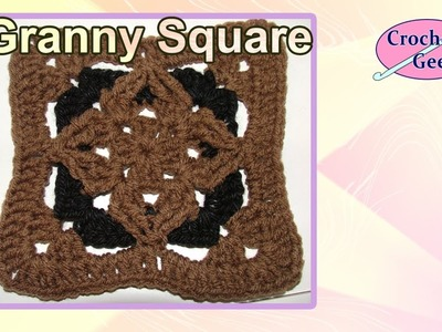 Granny Square Crochet Geek PT1 May 27 Video