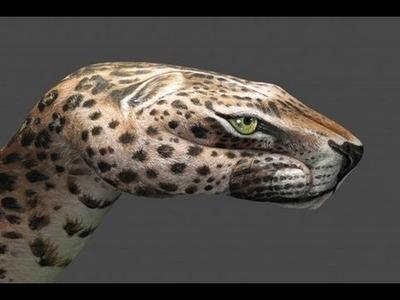 Hand Art: Leopard