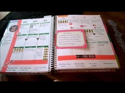 Happily Organized {Day 4 Calendars} How I use my Erin Condren Planner