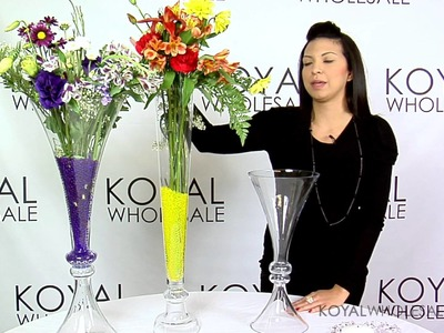 How to Centerpiece Ideas with our Reversible Vases | Weddings & Event Decor by Koyal Wholesale