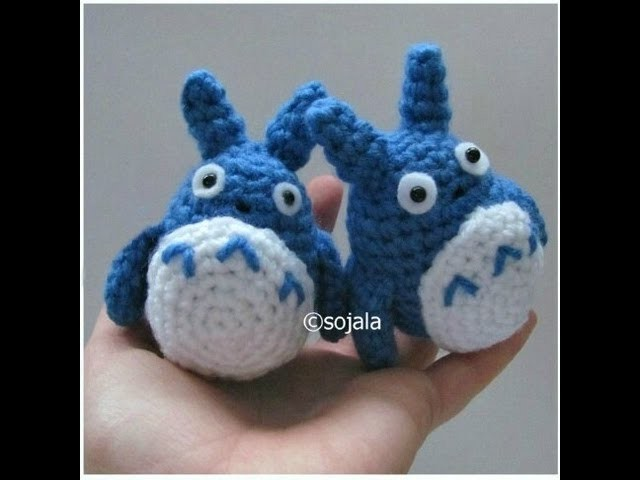 How To Crochet A Totoro Free Pattern