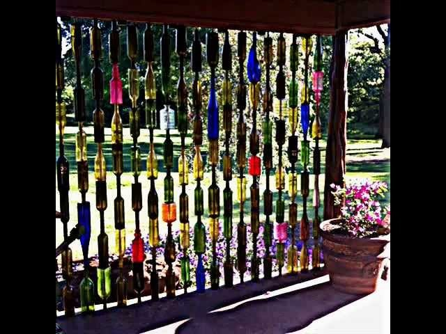 How to Make a Special Bottle Fence, My Crafts and DIY Projects