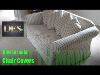 How to make Chair Cover of Arm Caps